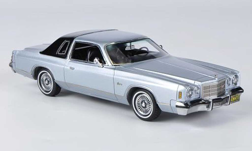 Dodge Charger 1976 1/43 American Excellence Charger Mk.IV grau /schwarz modellautos