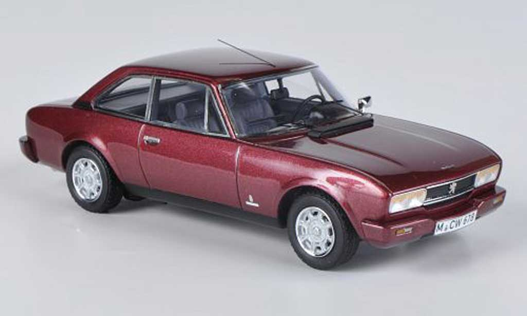 Peugeot 504 coupe 1/43 Neo Phase II rouge limited edition 1980 miniature