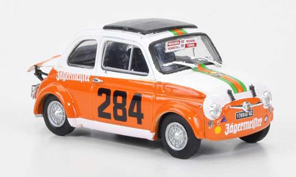 Fiat 695 1/43 Brumm SS Abarth Meran 1973 No284 J?germeister Manapace 1973 diecast model cars