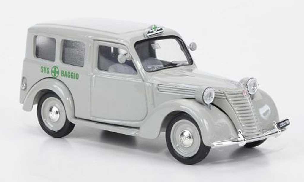 Fiat 1100 1/43 Brumm vertees Kreuz SVS Baggio 1948-1950 miniature