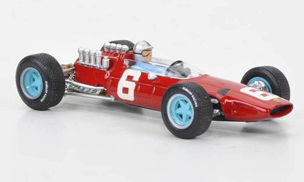 Ferrari 158 1965 1/43 Brumm No.6 Vaccarella GP Italien + Fahrer miniature