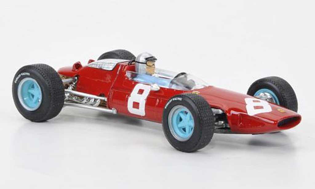 Ferrari 156 1964 1/43 Brumm No.8 L.Bandini Sieger GP Osterreich + Fahrer miniature
