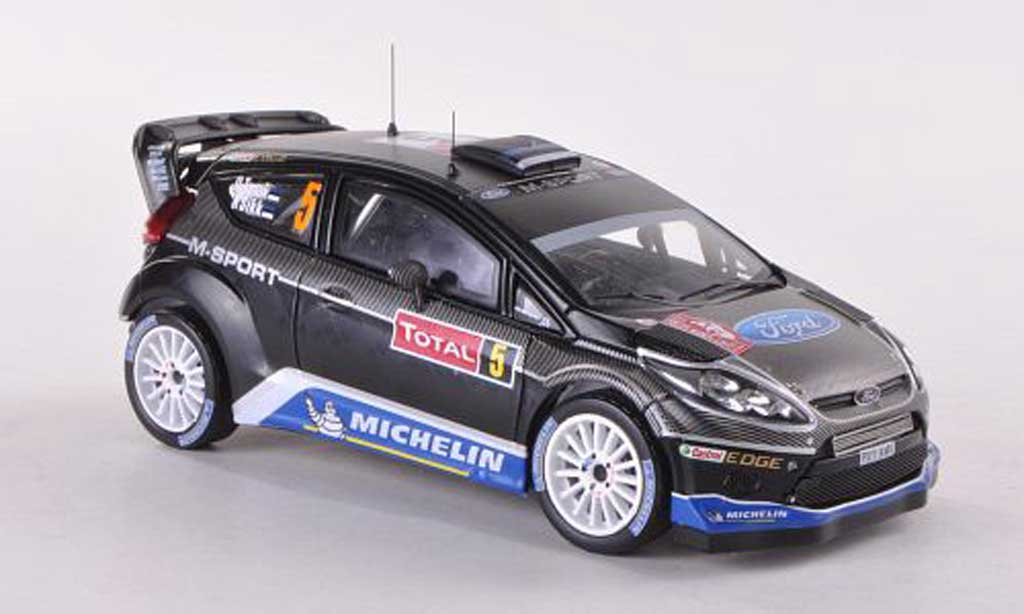 Ford Fiesta WRC 1/43 IXO No.5 M-Sport Rally Monte Carlo 2012 O.Tanak/K.Sikk miniature