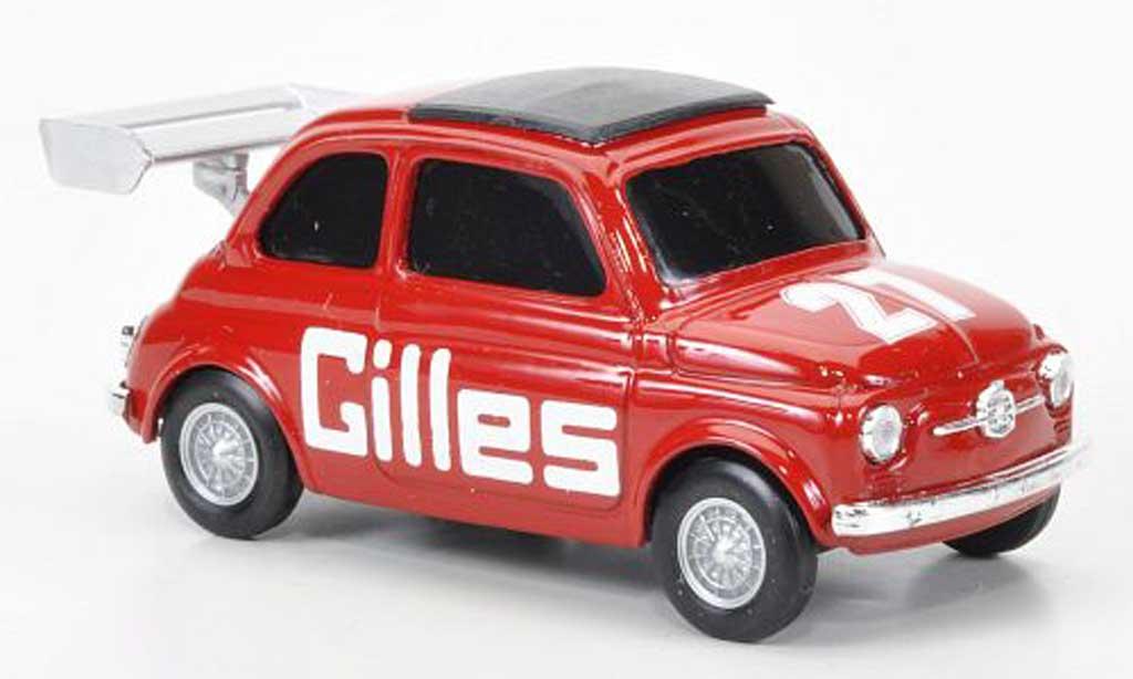 Fiat 500 1/43 Brumm No.27 Gilles diecast