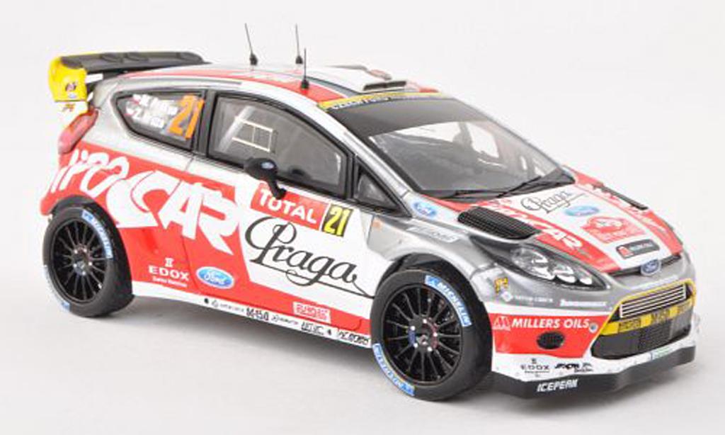 Ford Fiesta WRC 1/43 IXO No.21 Czech National Team Rally Monte Carlo 2012 M.Prokop/Z.Hruza diecast model cars