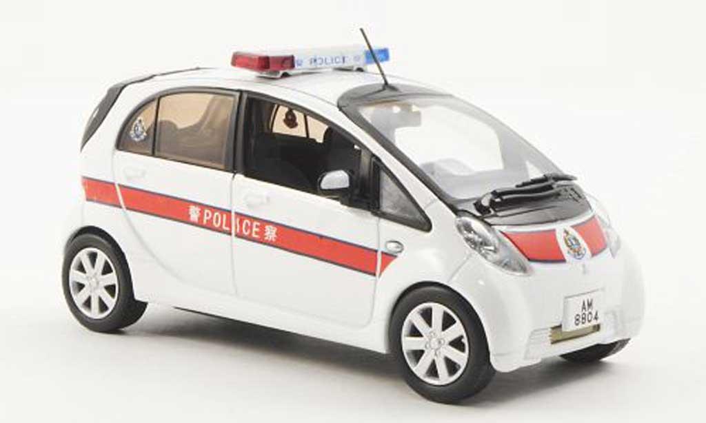 Mitsubishi iMiev 1/43 J Collection Hong Kong Polizei - Police 2010 miniature