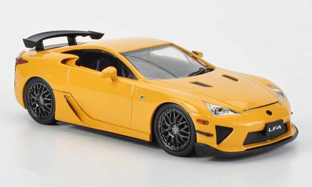 Lexus LFA 1/43 J Collection jaune Nurburgring Package RHD 2011 miniature