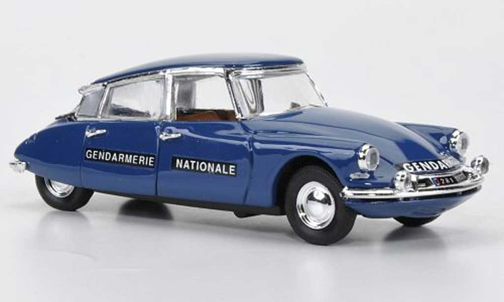 Citroen DS 19 1/43 Rio 19 Gendarmerie Nationale 1965 miniature