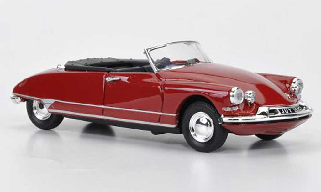 Citroen DS Cabriolet 1/43 Rio rouge 1961 miniature
