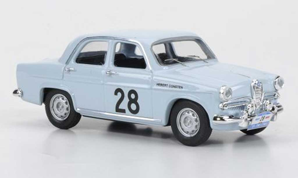 Alfa Romeo Giulietta Ti 1/43 Rio No.28 Herbert / Consten Tour de France Automobile 1958 miniature