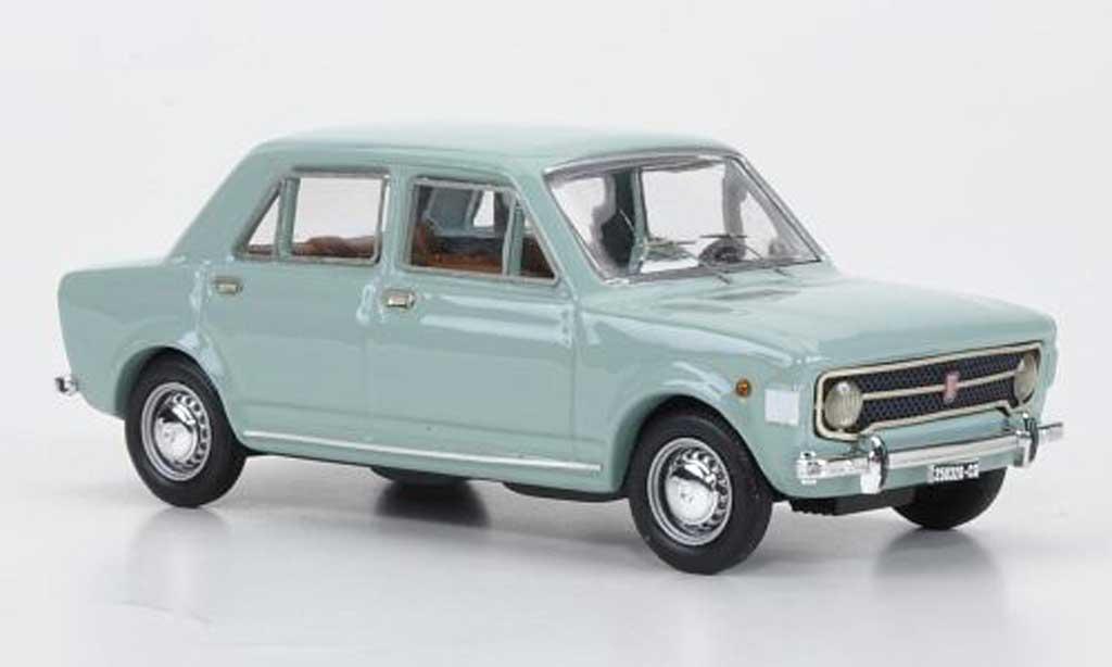 Fiat 128 1/43 Rio bleu grise 4-Turer 1969 miniature