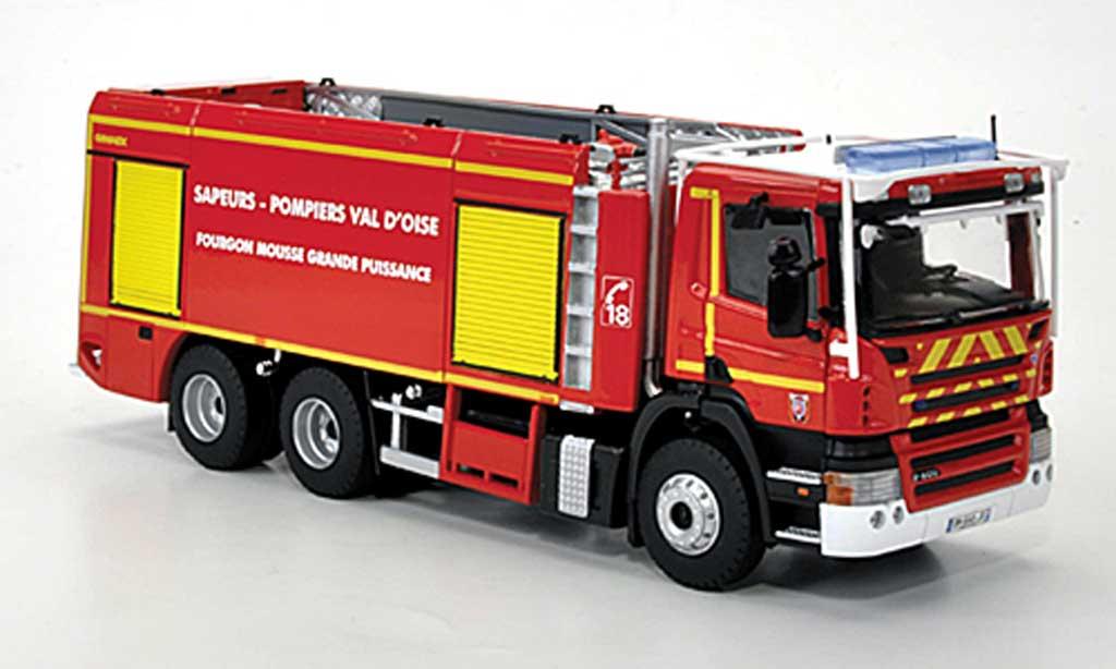 Scania Serie R 1/43 Eligor P400 GIMAEX 95 Sapeurs Pompiers - Val d'Oise Schaumloschfahrzeug miniature