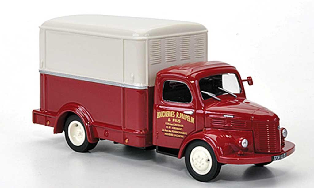 Hotchkiss PL 25 1/43 Eligor Kasten Boucheries R.Paupelin & Fils Fleischereilieferwagen miniature