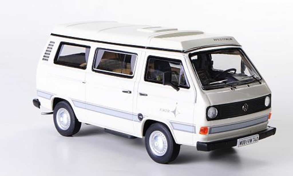 Volkswagen T3 A 1/43 Premium ClassiXXs Westfalia blanche miniature