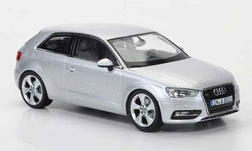 Audi A3 1/43 Schuco grise  2012 miniature