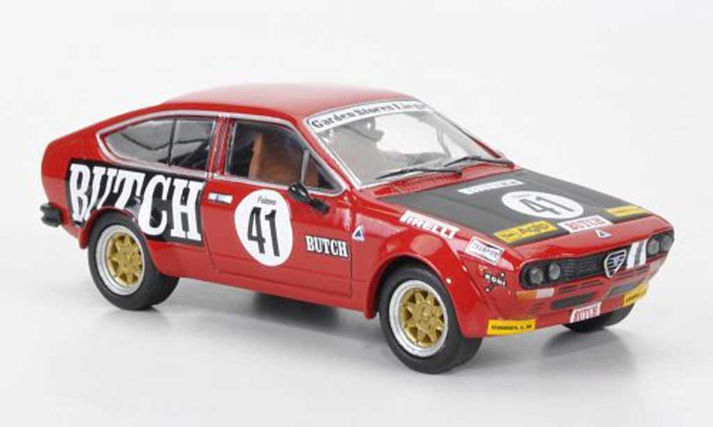Alfa Romeo GTV 2.0 1/43 M4 Alfetta No.41 Butch Pooky/Dona/Uberti Spa 1977 diecast