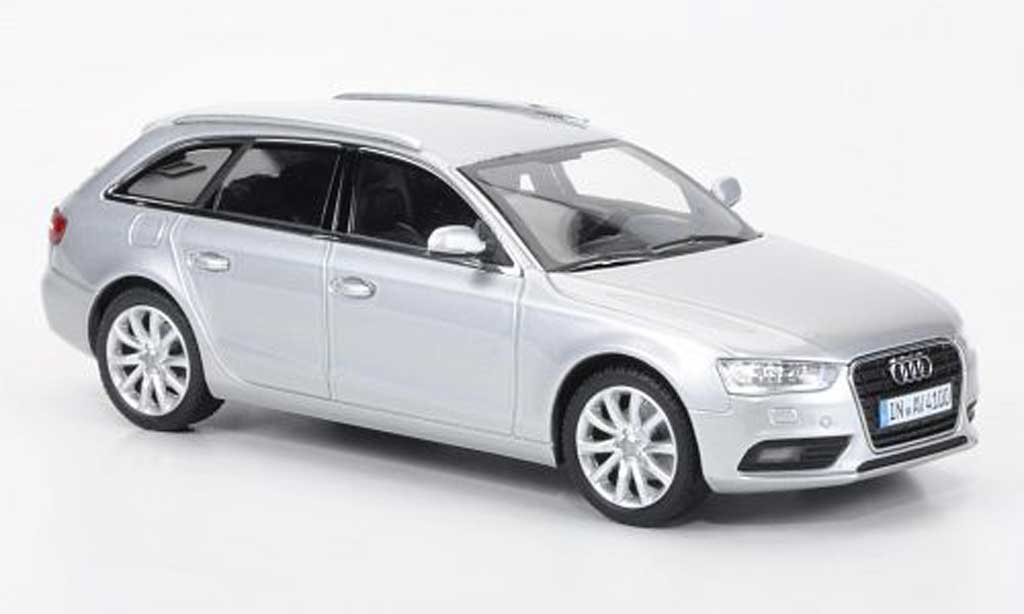 Audi A4 Avant 1/43 Minichamps grey 2012 diecast model cars