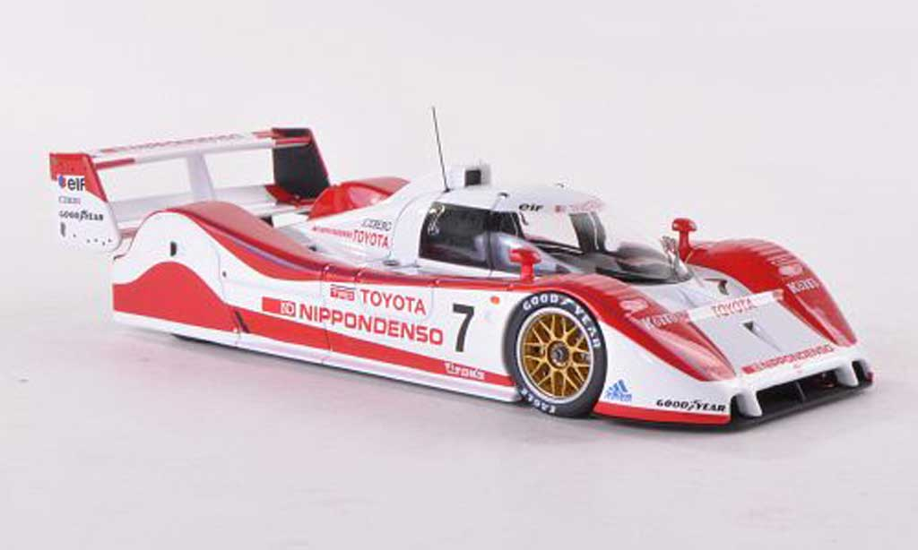 Toyota TS010 1/43 HPI TS010 No.7 Team Tom's Nippondenso SWC 1992 G.Lees/H.Ogawa miniature