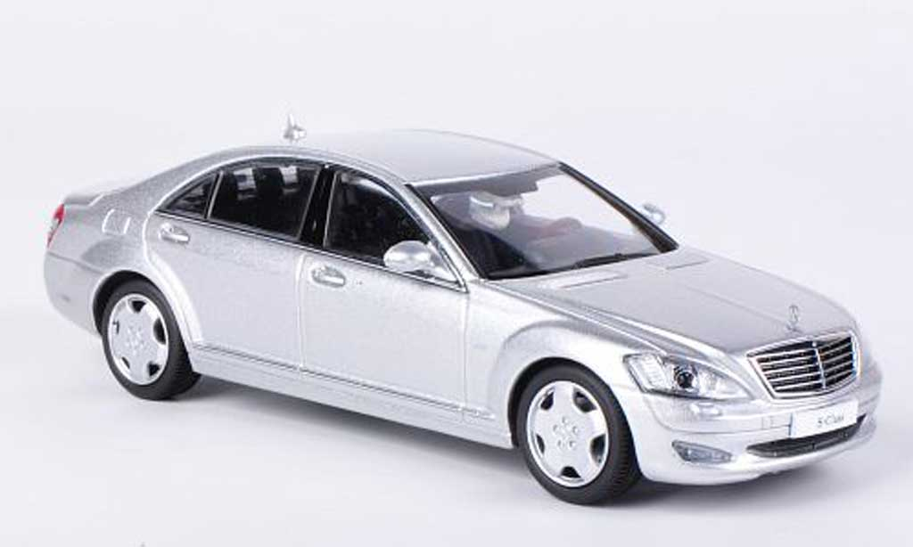 Mercedes Classe S 1/43 Kyosho Langversion (V221) greygrey diecast model cars