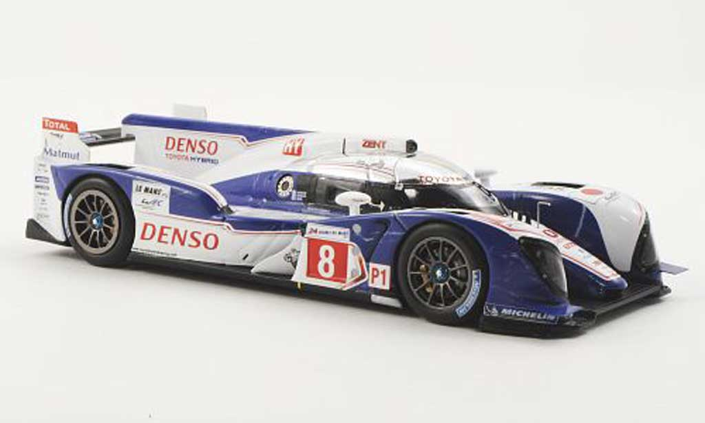 Toyota TS030 1/43 Spark Hybrid No.8 Racing S.Buemi / A.Davidson / S.Sarrazin 24h Le Mans 2012 miniature