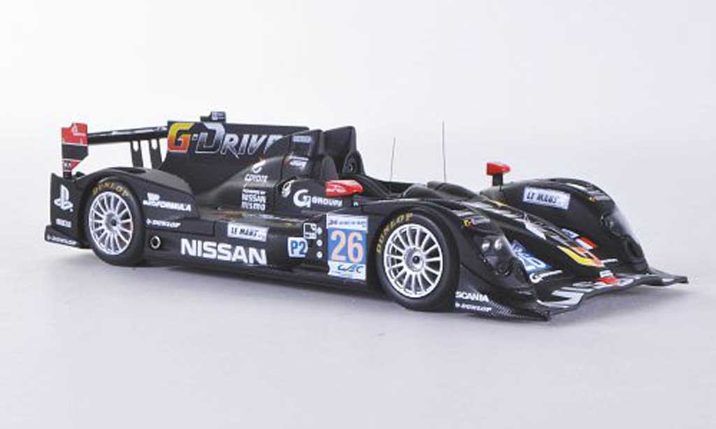 Oreca Nissan 1/43 Spark 03 No.26G-Drive by Signatech 24h Le Mans 2012 N.Panciatici/P.Ragues/R.Rusinov miniature