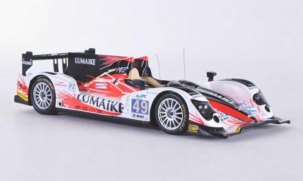 Oreca Nissan 1/43 Spark 03 No.49 Pecom Racing 24h Le Mans 2012 S.Ayari/P.Kaffer/L.Perez-Companc miniature