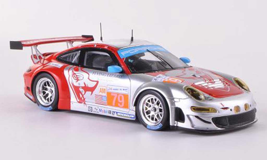 Porsche 997 GT3 RSR 1/43 Spark 2012 No.79 Flying Lizard Motorsports P.Pilet / S.Neiman / S.Pumpelly 24h Le Mans diecast model cars