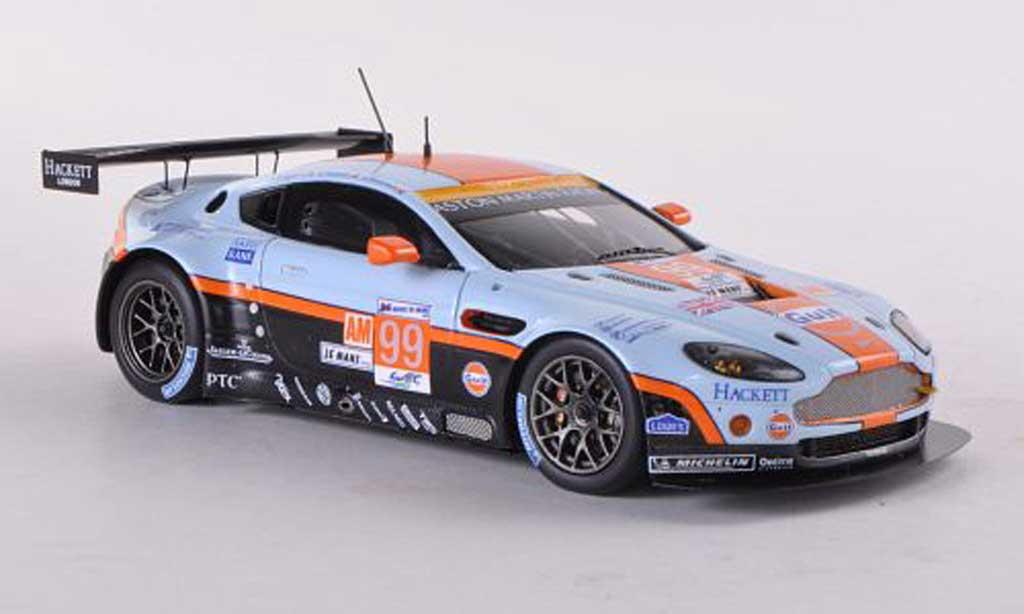 Aston Martin V12 Vantage 1/43 Spark No.99 Racing 24h Le Mans 2012 C.Nygaard/A.Simonsen/K.Poulsen miniature