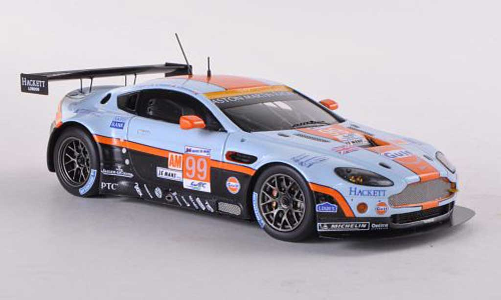 Aston Martin V12 Vantage 1/43 Spark No.99 Racing 24h Le Mans 2012 C.Nygaard/A.Simonsen/K.Poulsen diecast model cars