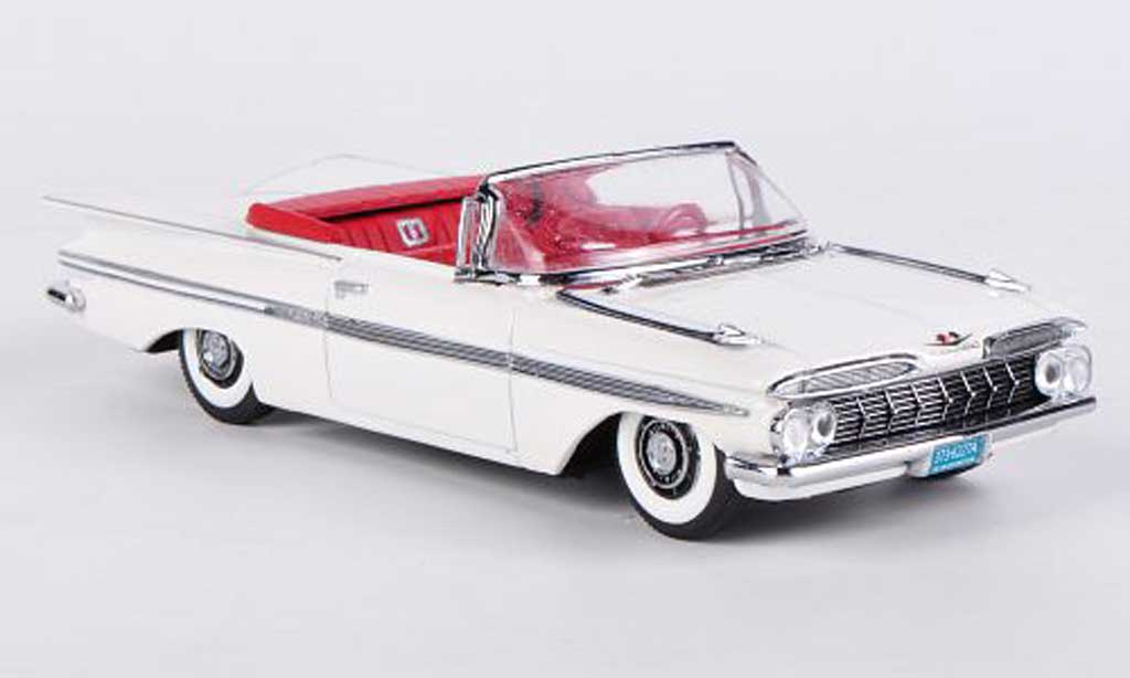 Chevrolet Impala 1959 1/43 Vitesse white diecast model cars