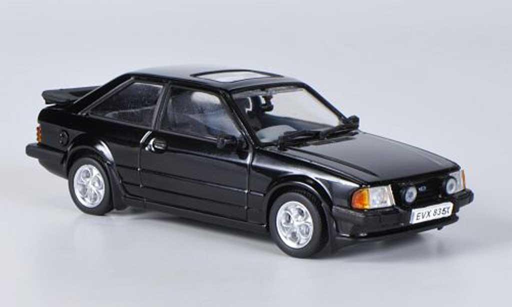 Ford Escort MK3 1/43 Vitesse XR3 noire 1981 miniature