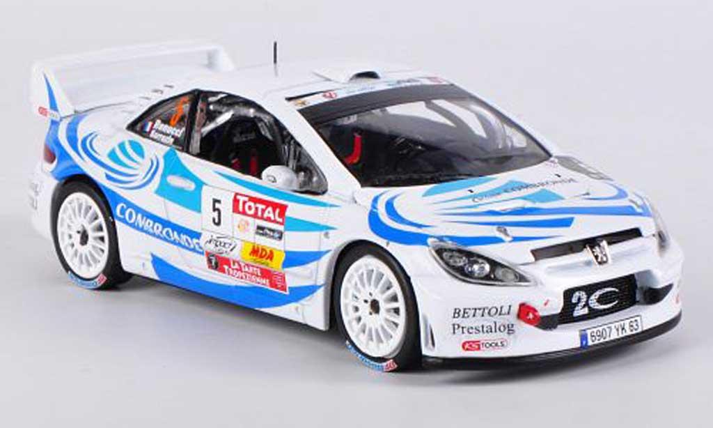 Peugeot 307 WRC 1/43 Vitesse No.5 2nd Rally du Var S.Sarrazin/J.Renucci diecast