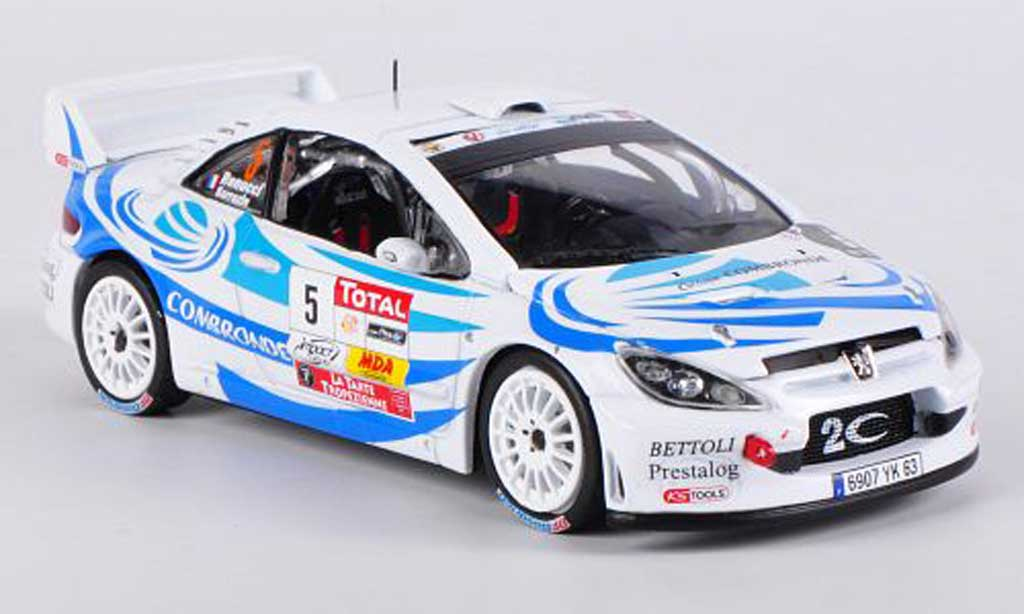 Peugeot 307 WRC 1/43 Vitesse No.5 2nd Rally du Var S.Sarrazin/J.Renucci miniature