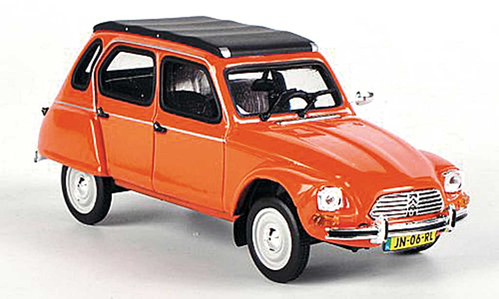 Citroen Dyane 1/43 Vitesse 6 orange miniature