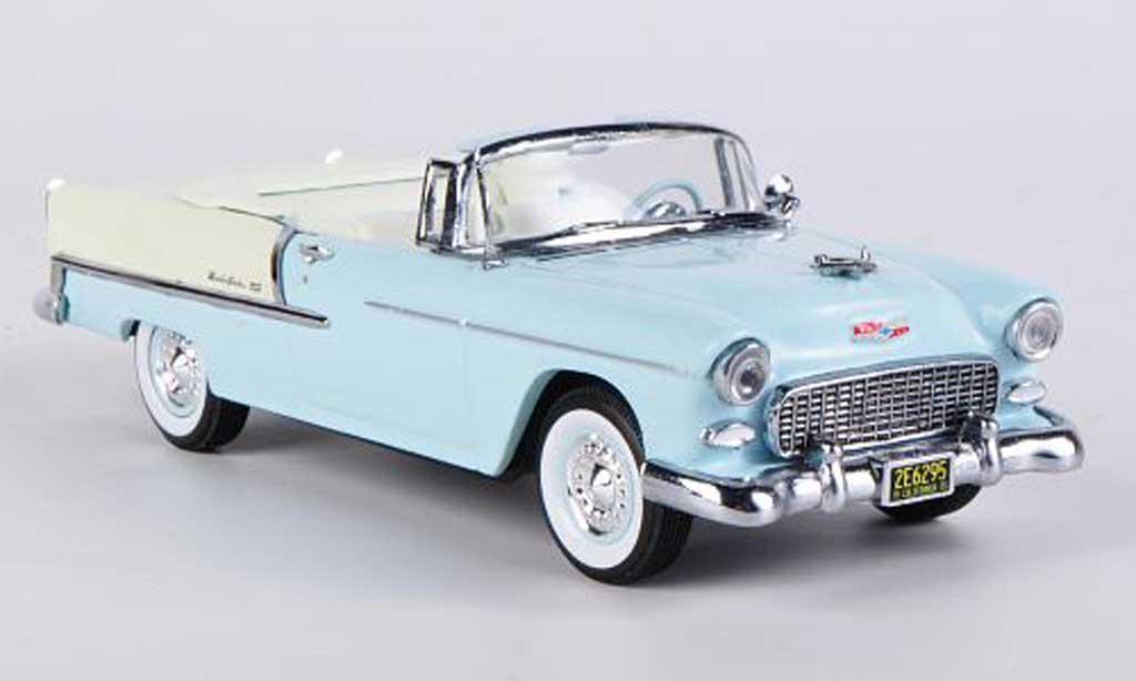 Chevrolet Bel Air 1955 1/43 Vitesse Convertible bleu miniature
