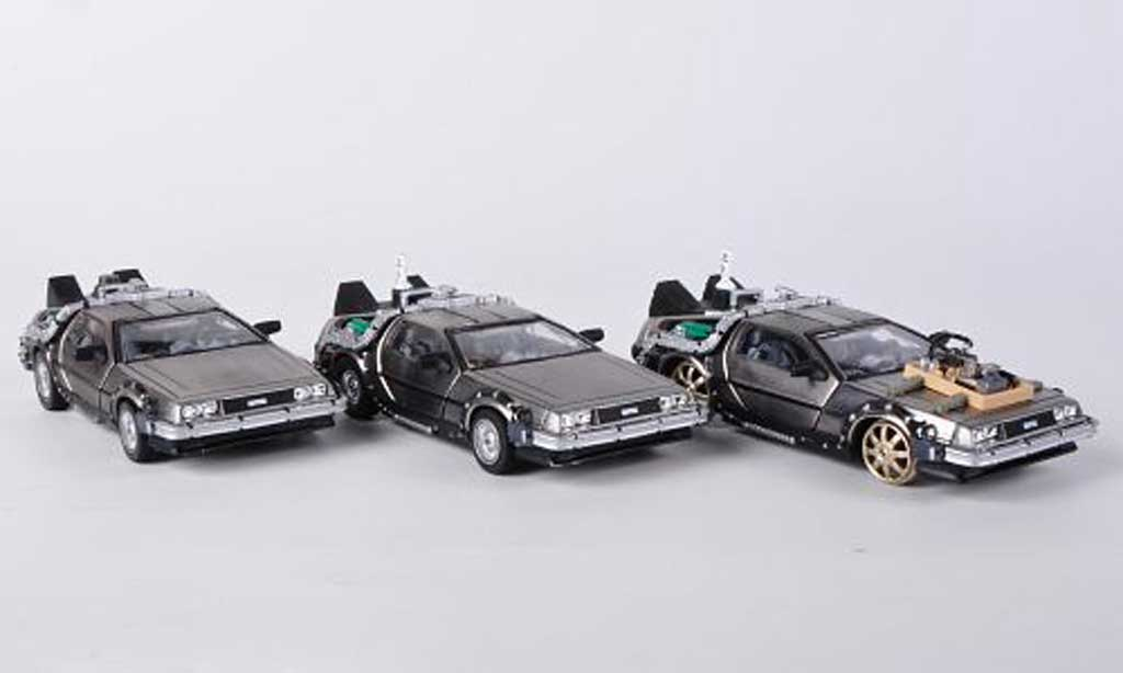 De Lorean  Set 1/43 Vitesse Back to the Future 3-in-1 Boxset