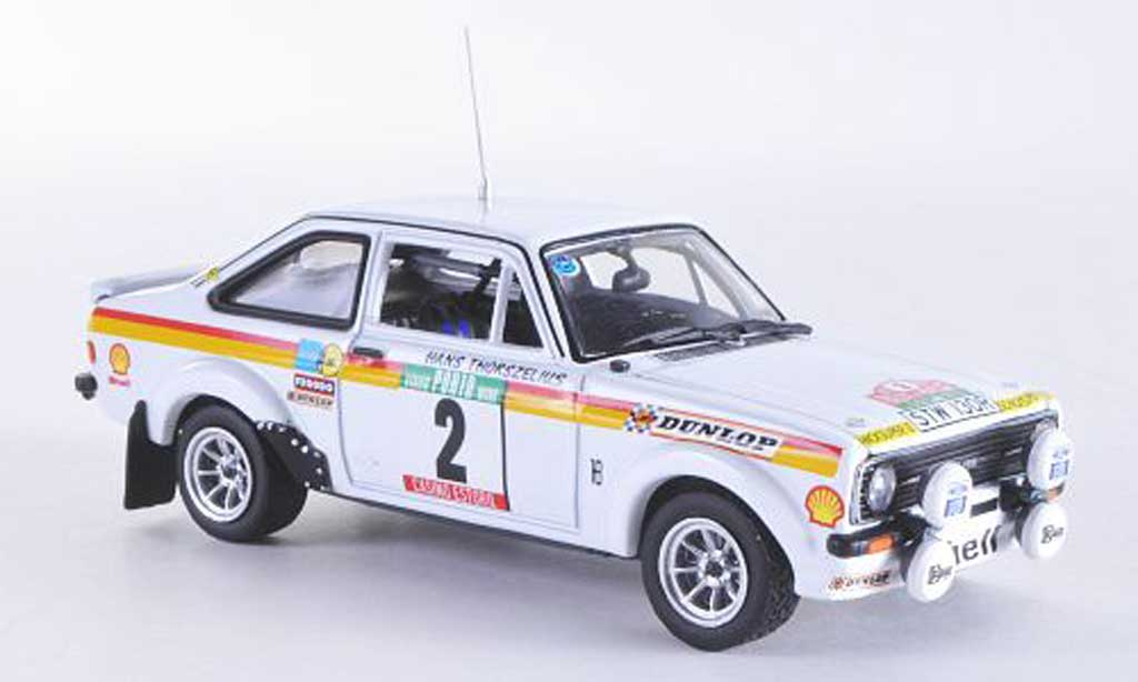 Ford Escort RS 1800 1/43 Vitesse MKII No.2 B.Waldegaard / H.Thorszelius Rally de Portugal 1977 miniature