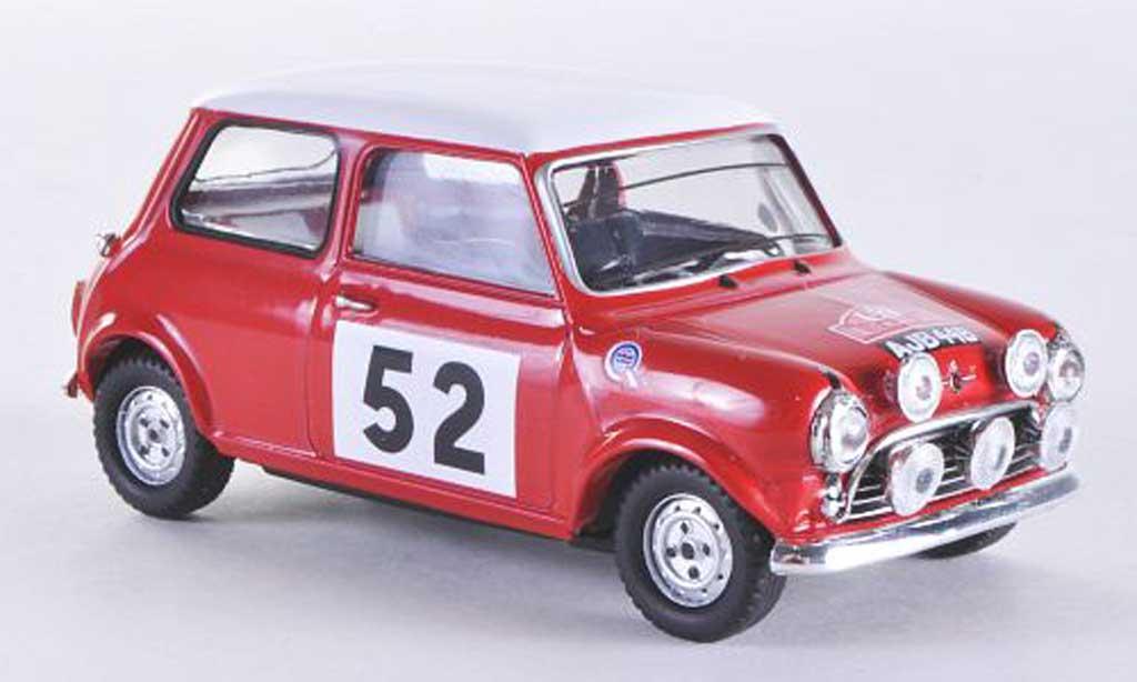 Austin Mini Rallye 1/43 Vitesse S No.52 T.Makinen / P.Easter Rally Monte Carlo 1965 miniature