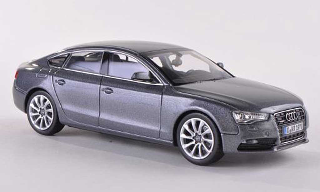 Audi A5 1/43 Norev Sportback grise 2012 miniature