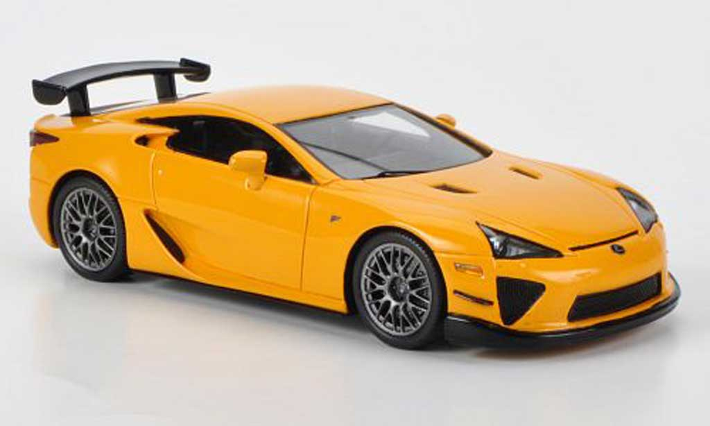 Lexus LFA 1/43 Ebbro Nurburgring Package orange