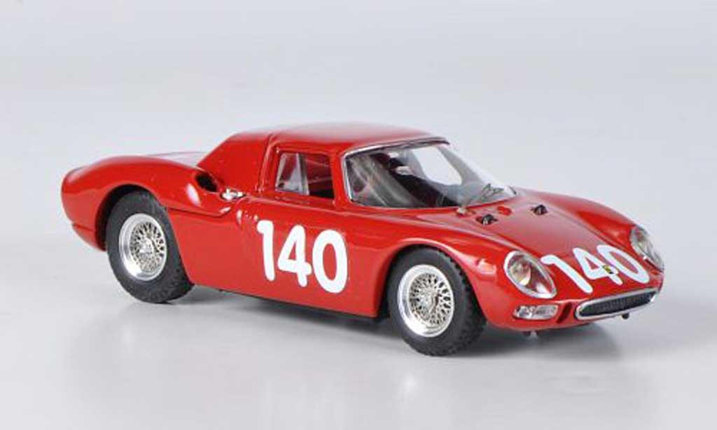 Ferrari 250 LM 1965 1/43 Best No.140 Targa Florio miniature