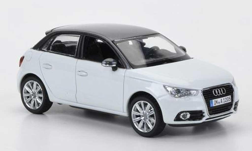 Audi A1 1/43 Kyosho Sportback grise/grise 2012 miniature