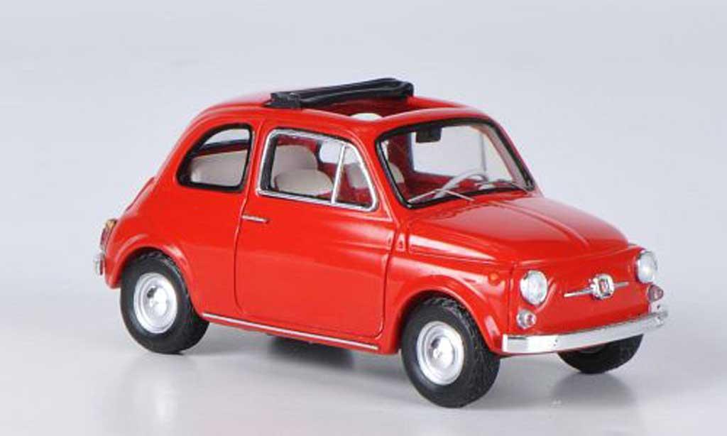 Fiat 500 1/43 Ebbro F red 1965 diecast model cars