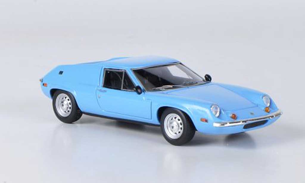Lotus Europa 1/43 Ebbro S2 Type 65 bleu 1969 diecast model cars