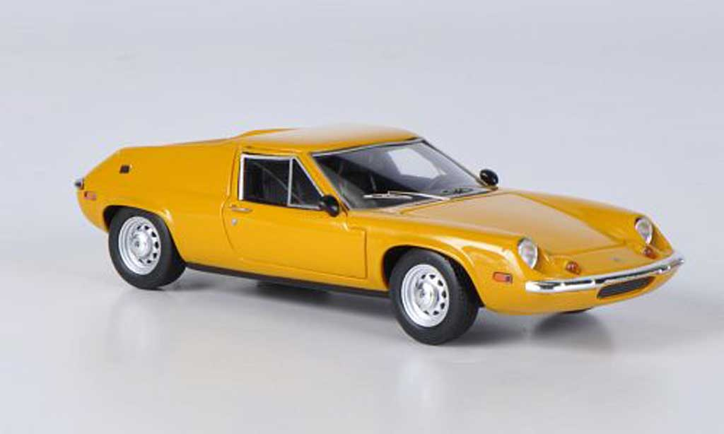 Lotus Europa 1/43 Ebbro S2 Type 65 yellow 1969 diecast model cars