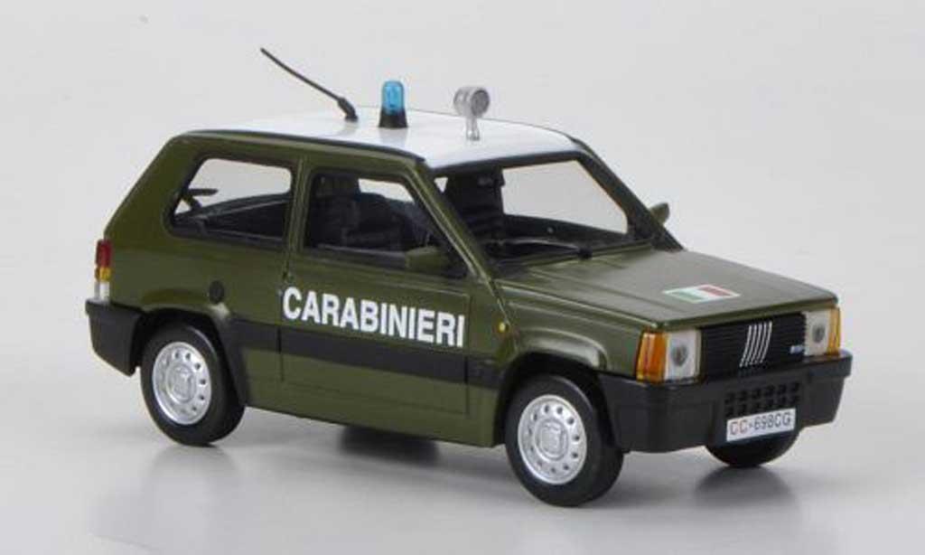 Fiat Panda 1/43 Hachette Carabinieri 1986 miniature