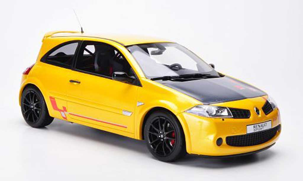 Renault Megane R26R 1/18 Ottomobile yellow/carbon diecast model cars
