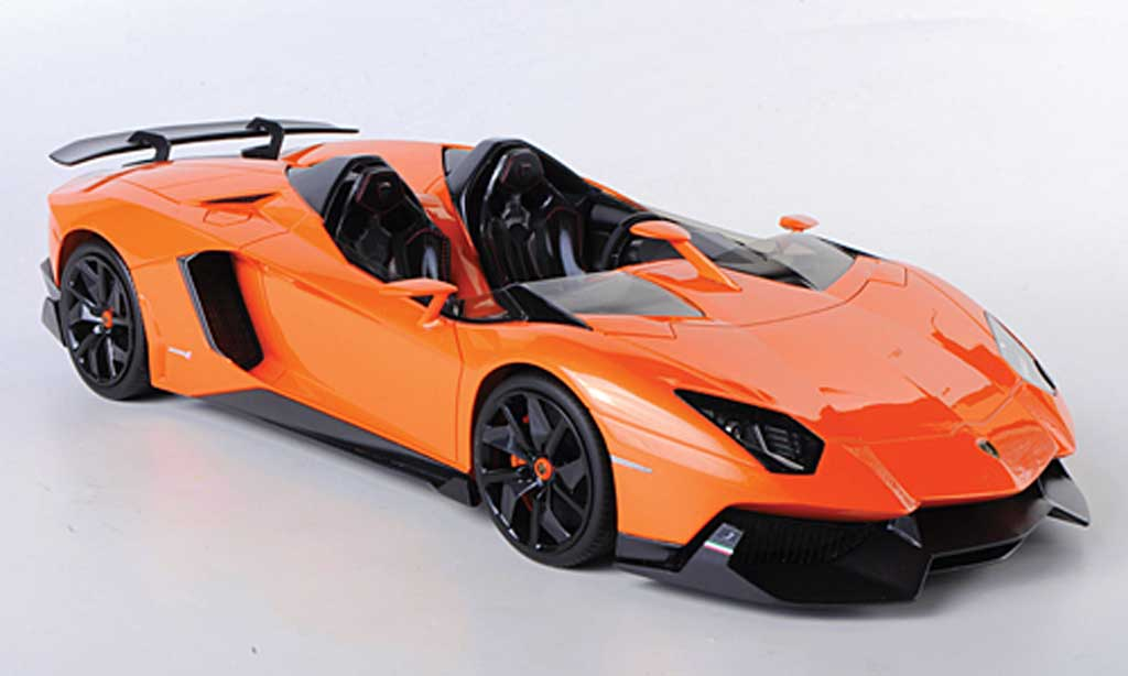 Lamborghini Aventador J 1/18 MR Collection orange 2012 diecast model cars