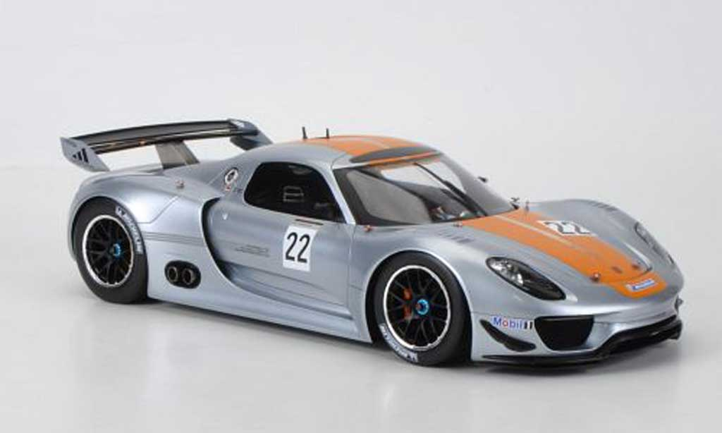 Porsche 918 1/18 Minichamps R No.22 miniature