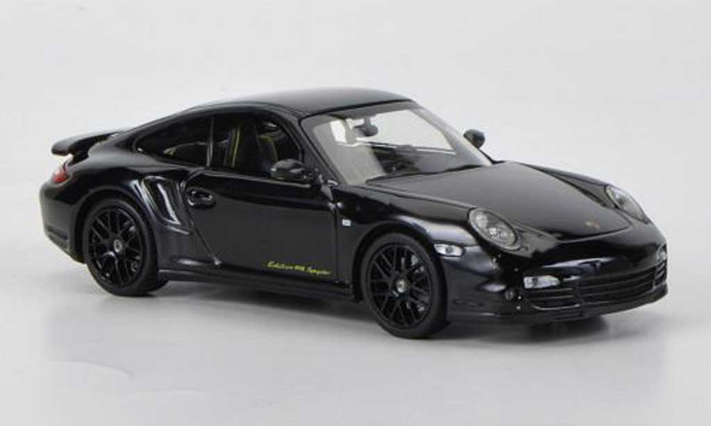 Porsche 997 Turbo S 1/43 Minichamps ''Edition 918 Spyder'' black